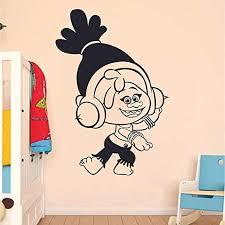Amazon Com Dj Suki Troll Trolls Movie Cartoon Character Kids Wall Sticker Art Decal For Girls Boys Kids Room Bedroom Nursery Kindergarten House Fun Home Decor Stickers Wall Art Vinyl Decoration Size 15x12