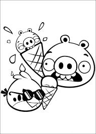 Angry Birds Kleurplaat Printen 34