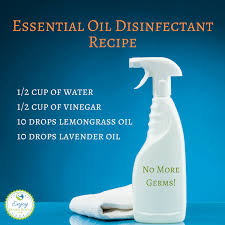essential oil disinfectant spray