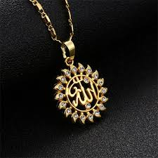 sun design ic necklace with