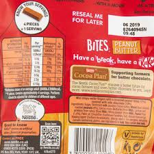 nestlé kitkat bites peanut er cherryz