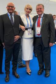 """FIL Luge on Twitter: """"The President of the Russian Luge Federation Natalia  Gart invited Russian President Vladimir Putin 🇷🇺, FIL President Josef  Fendt and @IBSFsliding President Ivo Ferriani to the Luge World"""