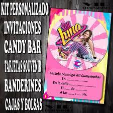 Kit Imprimible Soy Luna Cumpleanos Bautismo Candybar