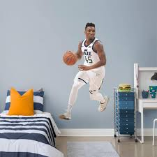 Donovan Mitchell Utah Jazz Fathead Life Size Removable Wall Decal