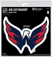 Amazon Com Wincraft Washington Capitals 6 Magnet Die Cut Vinyl Auto Home Heavy Duty Hockey Sports Outdoors