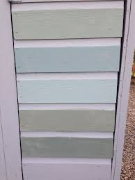 Paint Colours For The Shed From Top Farrow And Ball Castle Grey 92 Oval Room Blue 85 82 Dix Blue Ca Shed Paint Colours Painted Shed Fence Paint Colours