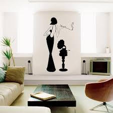 Retro Woman With A Gramophone Wall Decal Retro Wall Decal Etsy