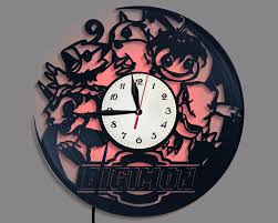 Digimon Funny Gift Digimon Decal Room Decor Gift For Friend Etsy