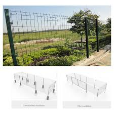 Safety Steel Mesh Fence Panels Crowd Control Security Fence Panels Protect Environment And Construction Site