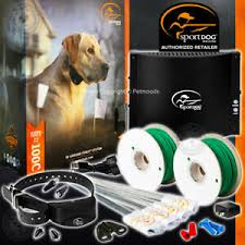 Sportdog Sdf 100c In Ground Fence 1000 Wire 20 Gauge Rechargeable Dog Collar 729849167391 Ebay