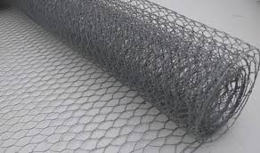 Rabbit Fencing Galvanised Steel Wire Netting 31mm Mesh 0 6mx50m Roll