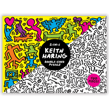 Keith Haring 2-Sided 500 Piece Puzzle ...