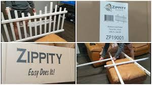 Zippity Zp19001 Madison Vinyl Picket Fence Setup Youtube
