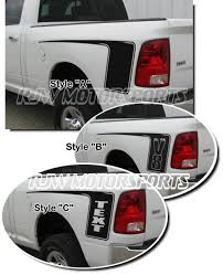 Dodge Side Stripes Decal 1 345 For Your Truck Bed