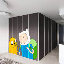 Shop Full Color Adventure Time Finn The Human Jake Full Color Wall Decal Sticker Sticker Decal 33x45 On Sale Overstock 15201278