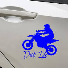 19 19cm Car Window Sticker Outdoor Decal Dirt Bike Dirt Life Car Stickers Styling Car Accessories Wish