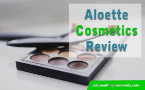 aloette cosmetics review under the