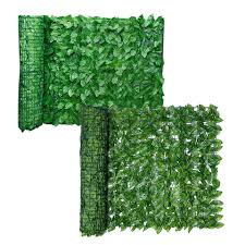 Artificial Leaf Privacy Fence Roll Wall Landscaping Fence Privacy Fence Screen Outdoor Garden Backyard Balcony Fence Fencing Trellis Gates Aliexpress