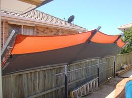 Image Result For Custom Sail Shades Side Grommets Backyard Shade Pool Shade Backyard Privacy