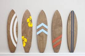 Surf Decor Beach Decor Retro Surf Vintage Wall Art Wood Etsy