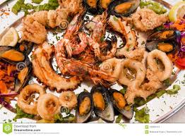 Seafood grill stock image. Image of ...