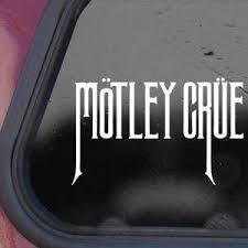 Amazon Com Motley Crue Car Vinyl Decal Laptop Car Truck Bumper Window Sticker Home Kitchen