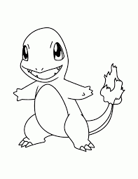 Pokemons Kleurplaten Charmander Pokemon Coloring Pages Pokemon
