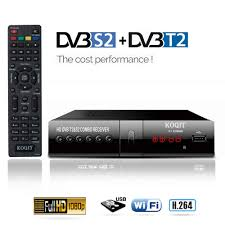 DVB T2 DVB S2 Free Digital TV Box DVB T2 DVB S2 Internet Satellite Receiver  finder KOQIT Combo IPTV m3u Playback Receptor Wifi|
