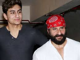 Here's what Ibrahim Ali Khan had to say about father Saif Ali Khan |  Filmfare.com