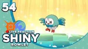 THE BEST ALOLA STARTER! SHINY ROWLET! | Pokemon Sun and Moon Shiny ...