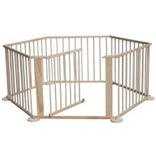 Baby Child Children Wooden Foldable Playpen Play Pen Room Divider Kid Play Fence