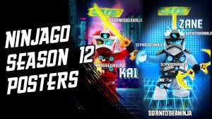 NINJAGO SEASON 12 - POSTERS (Fan-Made Arts by Born Ninja) - YouTube