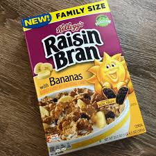 raisin bran with bananas cereal review