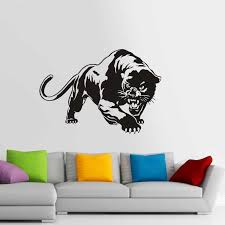 Jaguar Wall Stickers Vinyl Decal Home Decor Art Decorative Decoration Mural Animal Sticker Tiger Car Glass Decals Wall Stickers Aliexpress