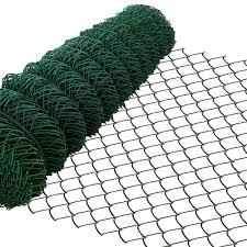 Amagabeli 1m X 25m Green Chain Link Fencing Ral6005 Pvc Coated 60 X 60mm Mesh Size 2 8mm Wire Diameter Galvanized Wire Mesh Fence Roll For Garden Poultry Netting Chicken Wire Rabbit Animal