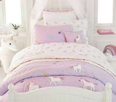 Rainbow Unicorn Reversible Quilt Shams In 2020 Unicorn Bedroom Decor Unicorn Room Decor Girl Room