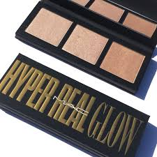mac hyper glow real face palettes