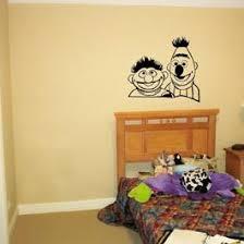 Ernie Bert From Sesame Street Vinyl Wall Art Decal Home Decor