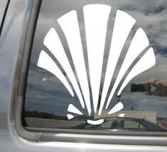 Seashell Sea Shell Beach Ocean Sand Car Window Vinyl Decal Sticker 10390 Ebay