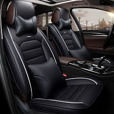 luxury leather car seat cover covers