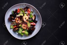 Seafood Salad, Mediterranean Food ...