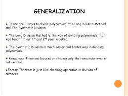 long division quadratic