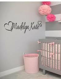 Custom Elephant Hearts Name Wall Decal Elephant Baby Room Decor Nursery For Sale Online Ebay