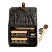 leather shoe shine kit mark and
