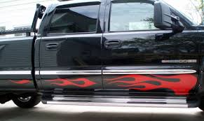 Truck Rocker Flame Flames Decal Decals Fits 02 Gmc 2500 Hd 162 Hog 59 95 House Of Grafx Your One Stop Vinyl Graphics Shop