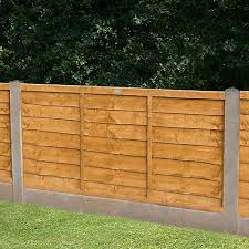 Forest 6 X 4 Lap Fence Panel 1 83m X 1 22m Buy Fencing Direct