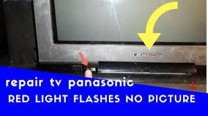 TV | Tivi Panasonic Không Lên Hình Đèn Đỏ Nhấp Nháy (Có hình ảnh)