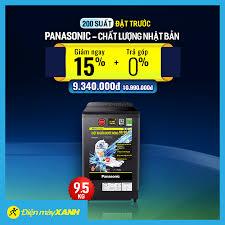 Máy Giặt Panasonic 9,5kg Chất Lượng Nhật... - Điện máy XANH  (dienmayxanh.com)