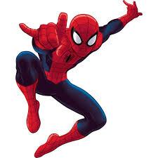 Kids Book Ultimate Spiderman Giant Wall Decal Rmk1796gm Indoorwallpaper Com