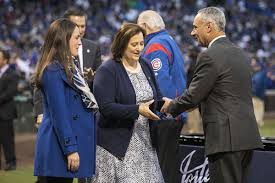 Cubs Convention: Co-owner Laura Ricketts talks luxury tax and payroll  issues - Chicago Sun-Times